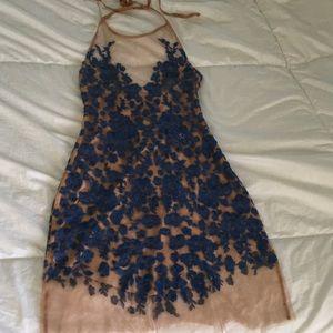 For Love & Lemons Luau Halter Dress